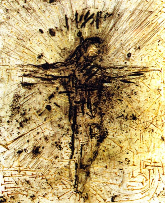 """Christ - From """"The Apocalypse of St. John"""" - 1958"""