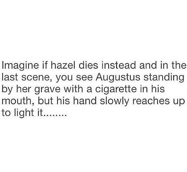 Plot Twist to The Fault in Our Stars #tfios