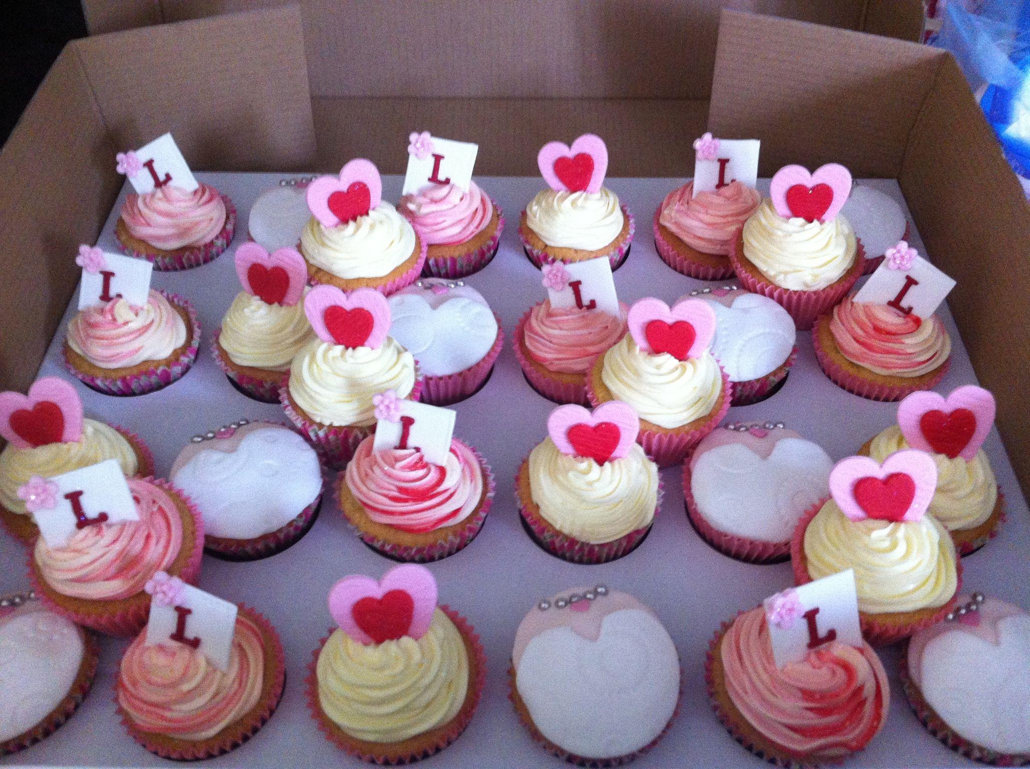 Bridal shower cupcakes Bridal shower cupcakes