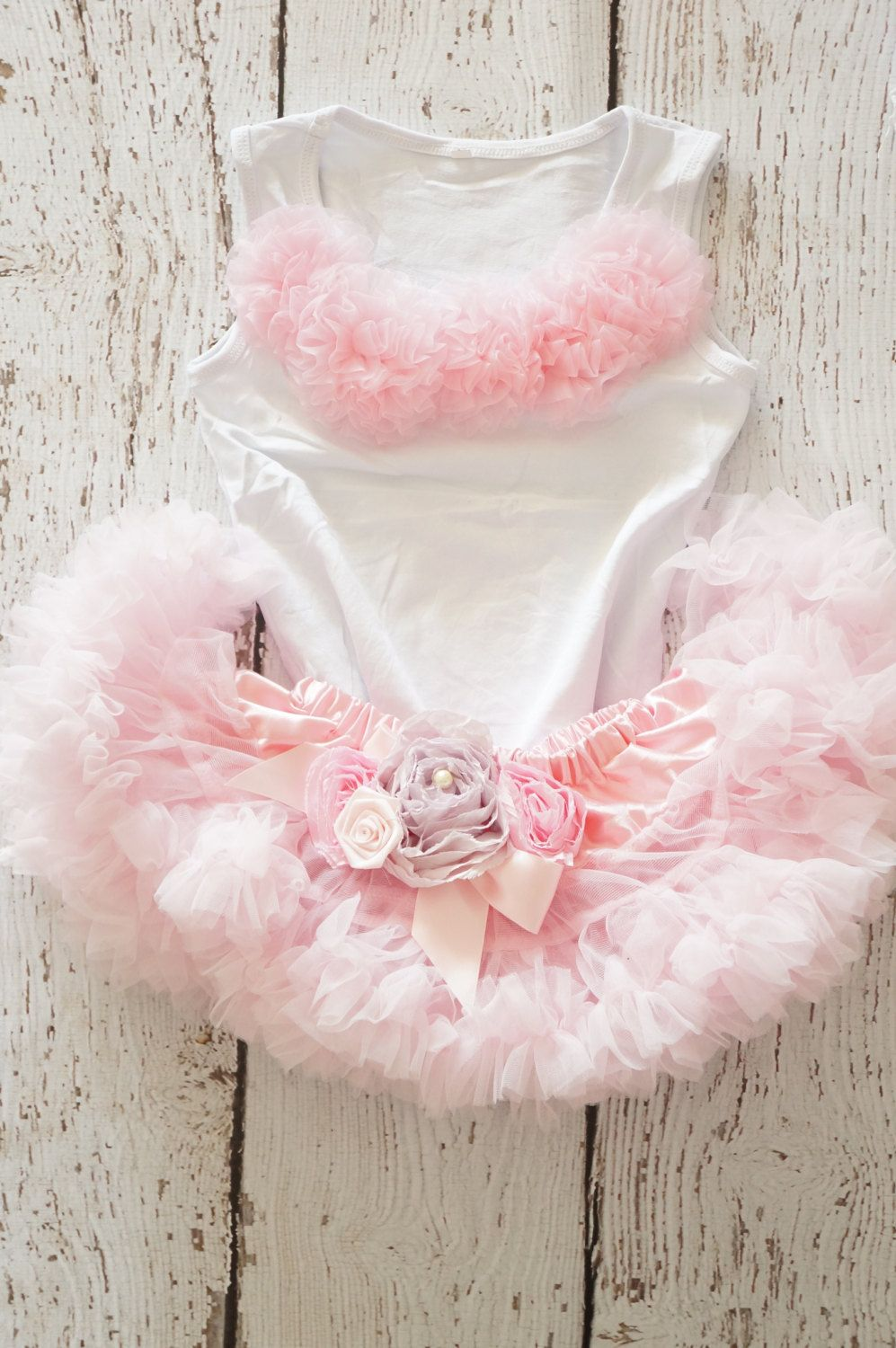 103125ee7 Girls first birthday Outfit Pink Skirt by PoshPeanutKids, $55.00 ...