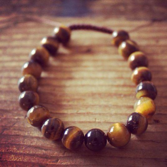 New Tiger's Eye Wrist Mala!  http://theeasiersofterway.com/product/tigers-eye-wrist-mala-2/  Tiger's Eye promote focus and concentration.  #tigereye #tigerseye #gemstone #gemstones #focus #concentrate #concentration #malabeads #yoga #buddhistmala #bracelet