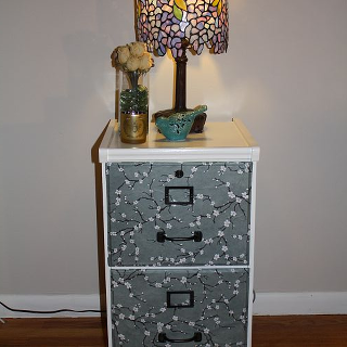 diy filing cabinet makeover, home decor, kitchen cabinets, painting