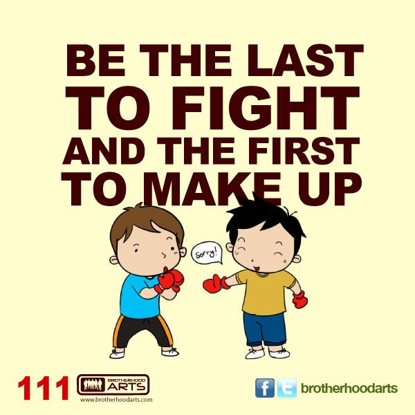 111 Ahmad Says Be The Last To Fight And The First To Make Up
