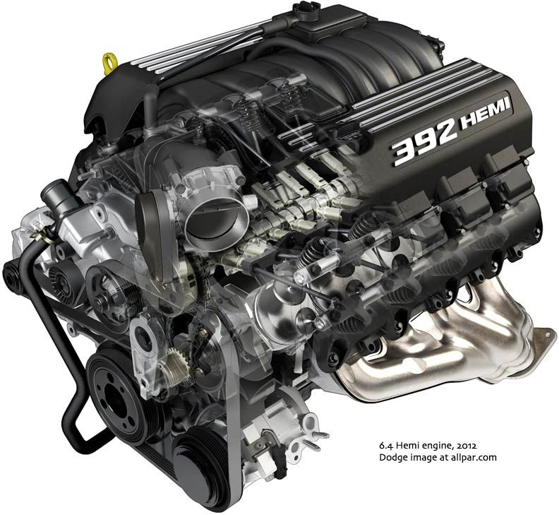 Mopar Hemi-Head Generation 3 392