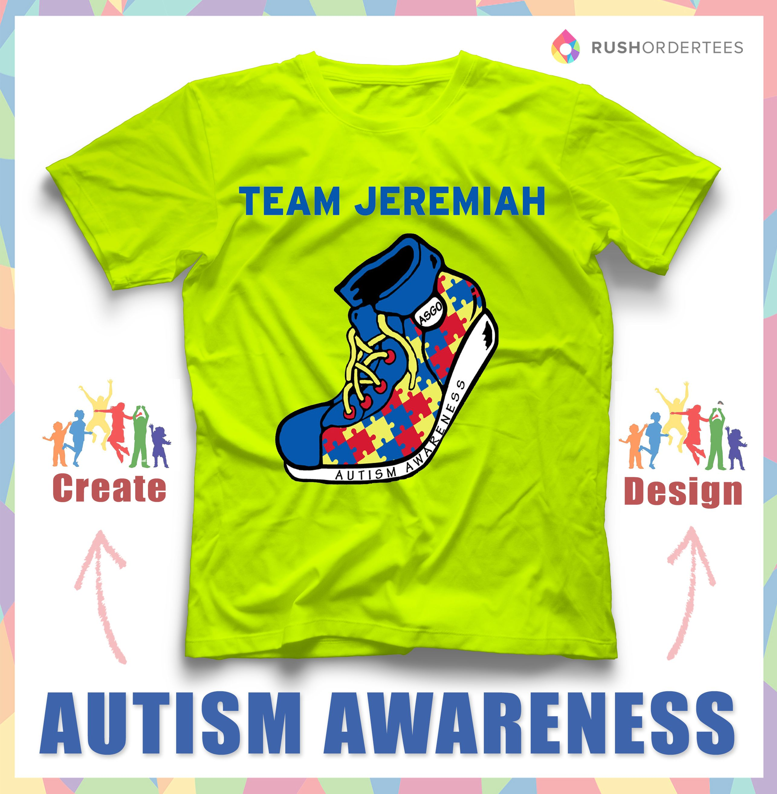 Autism Awareness Team Jeremiah Support autism awareness by