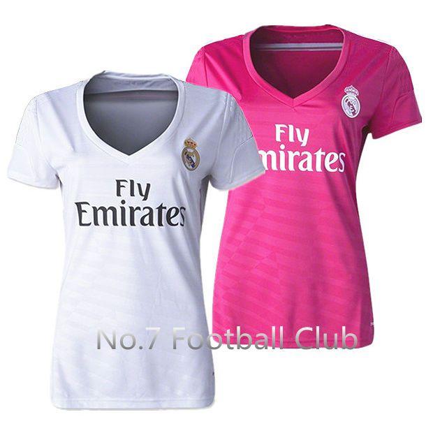 Camisetas Real Madrid mujer - woman  20aaf72116d