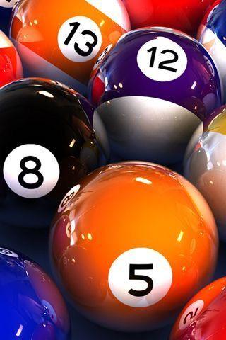 Bola Bilyar : bilyar, 8-Ball, Biliar,, Hiburan