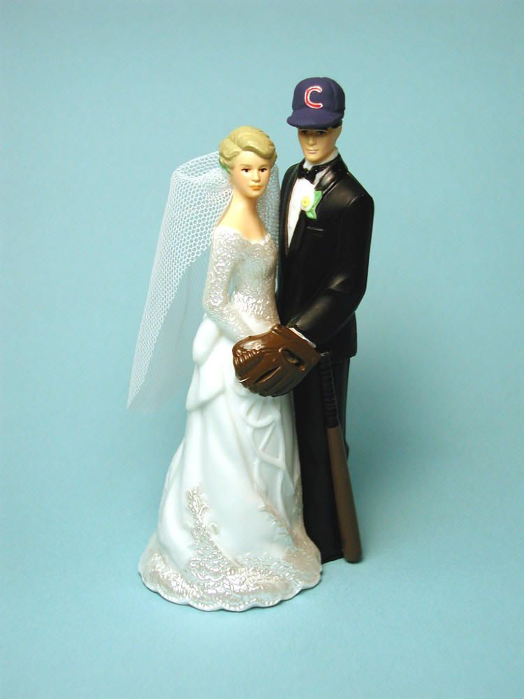 Examples Of Hobbies And Interests Wedding Cake Toppers Baseball Wedding Wedding Cake Toppers Baseball Wedding Cakes