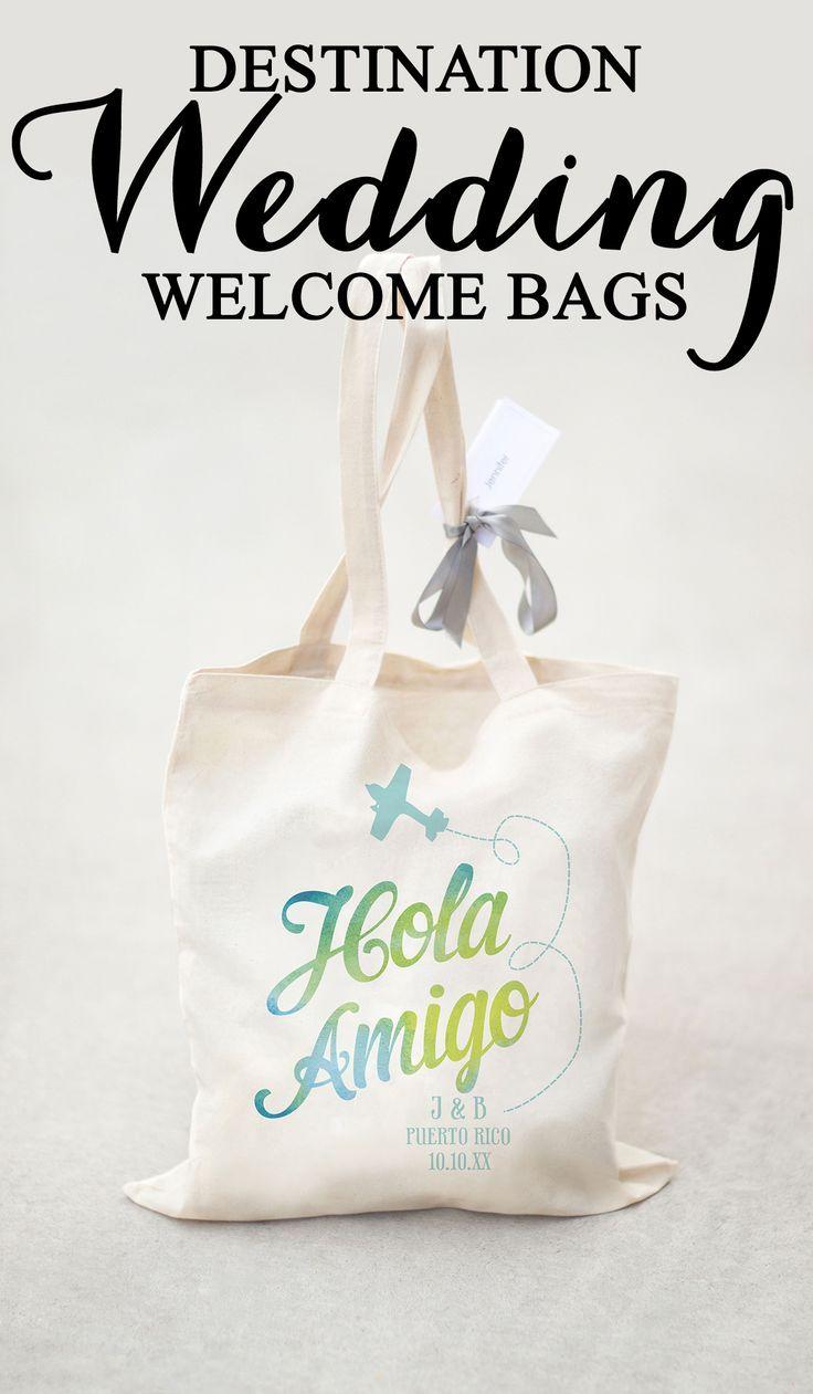 Hola Amigo! Here\'s your perfect destination wedding welcome bag ...