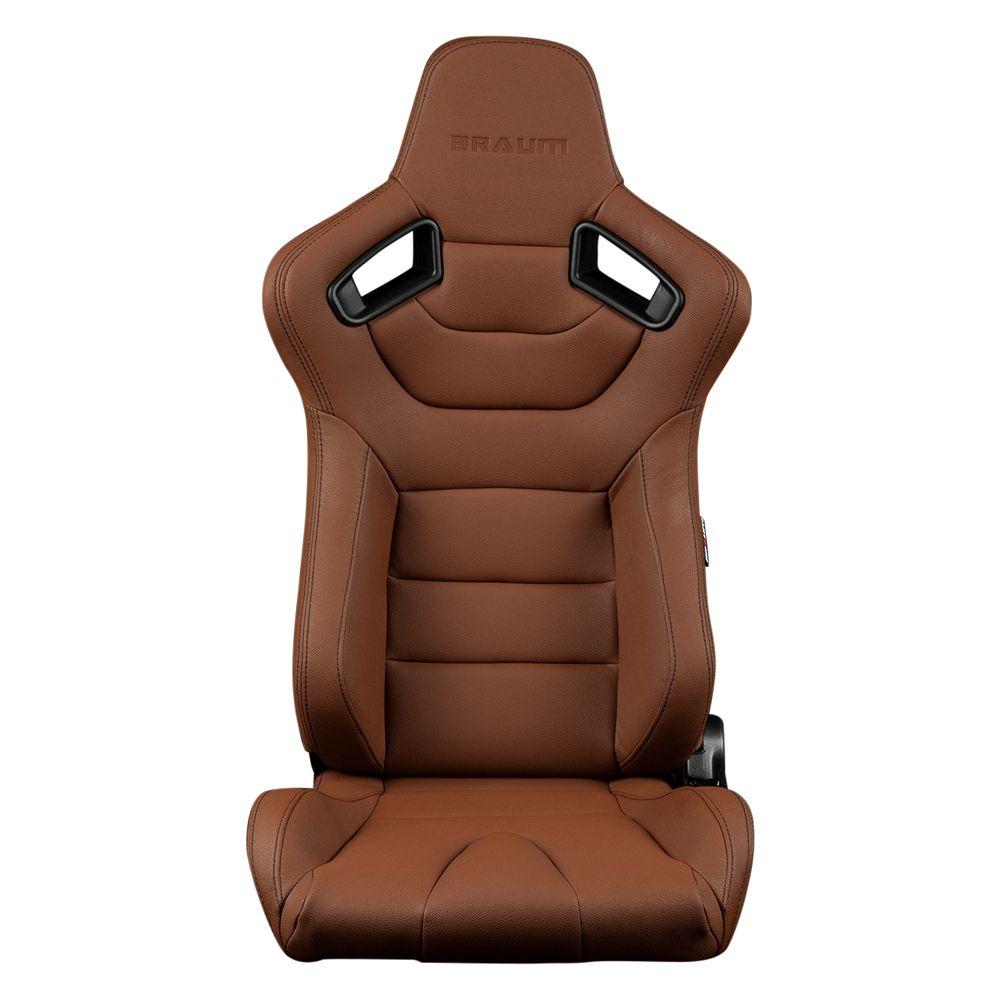 Elite Series Sport Seat, Brown Leatherette