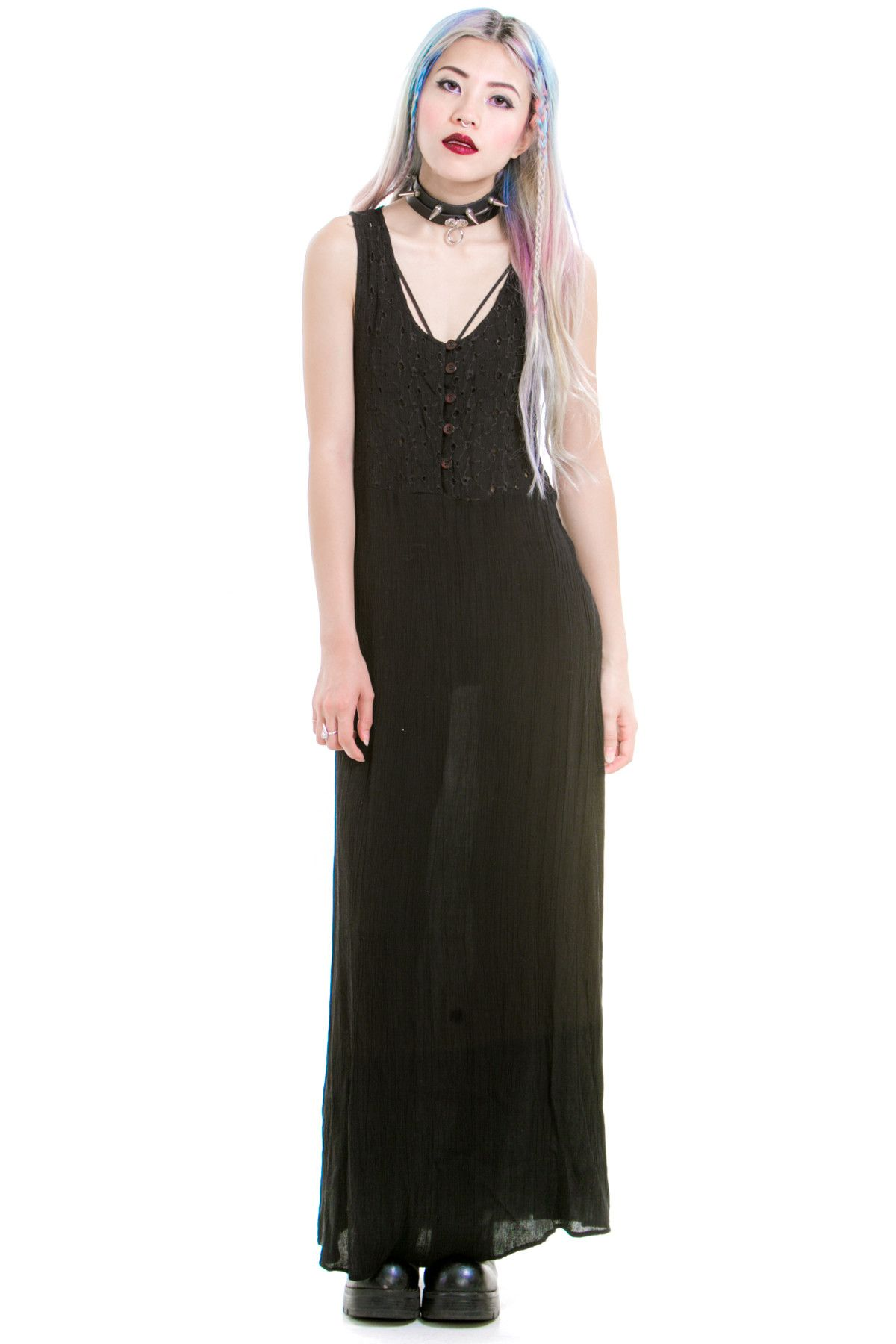 Vintage Season of the Witch Dress - XS/S/M