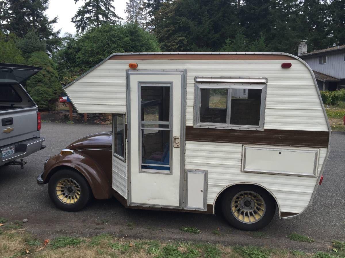 Honey Mooner Vw bug, Camper, Vintage motorhome