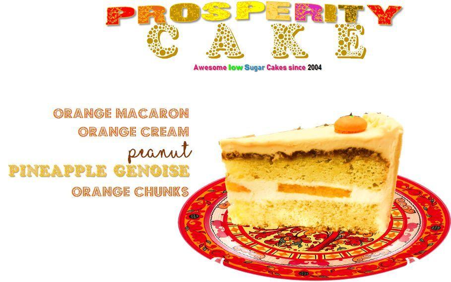 Prosperity Cake in 2020 Low sugar cakes, Cake, Sugar cake