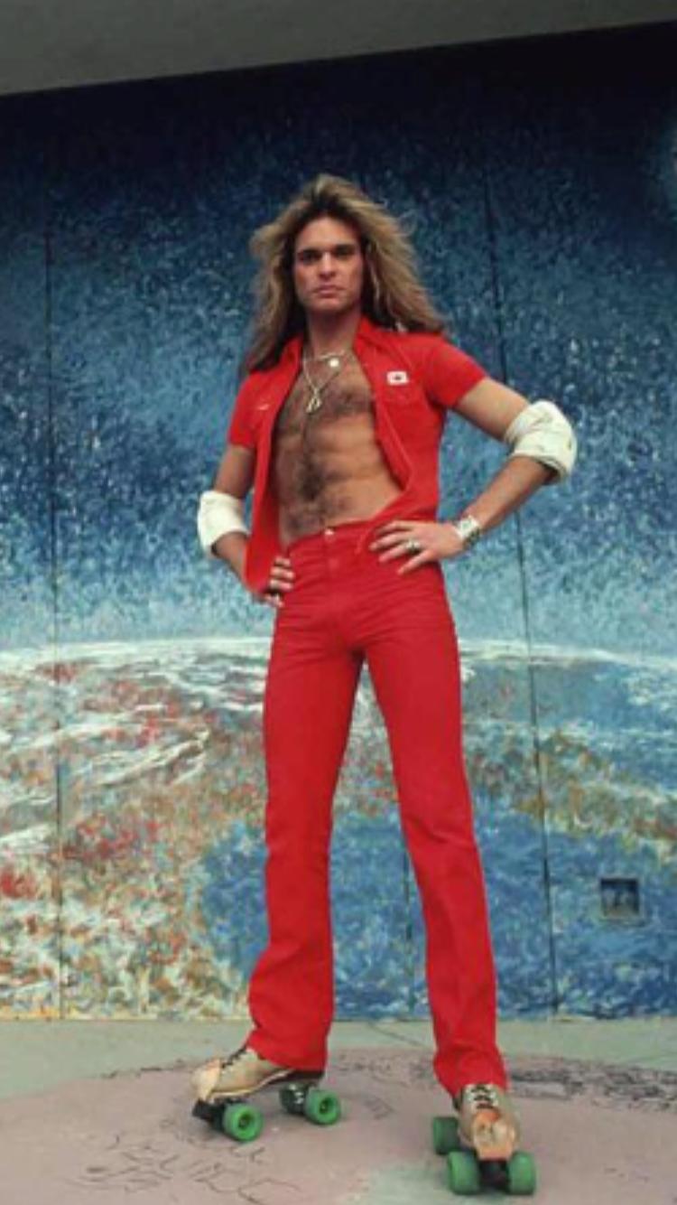 This Man In His 20s Then Knew He Was And Is The Best Rock Frontman Rf Van Halen David Lee David Lee Roth