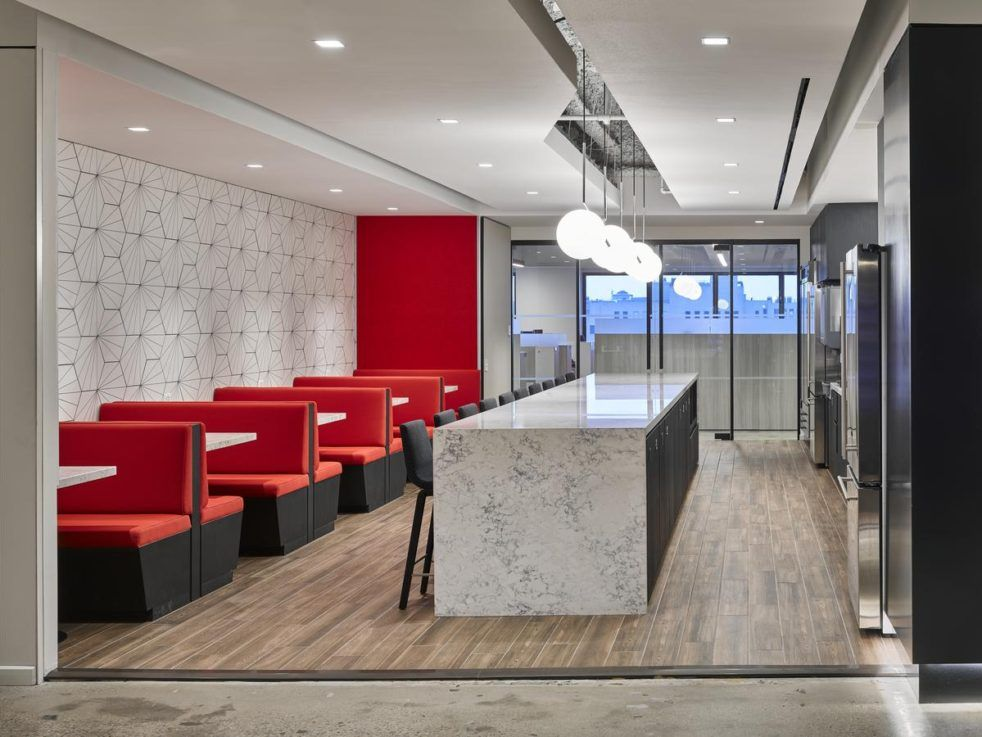 Aon New York Meadows Office Interiors