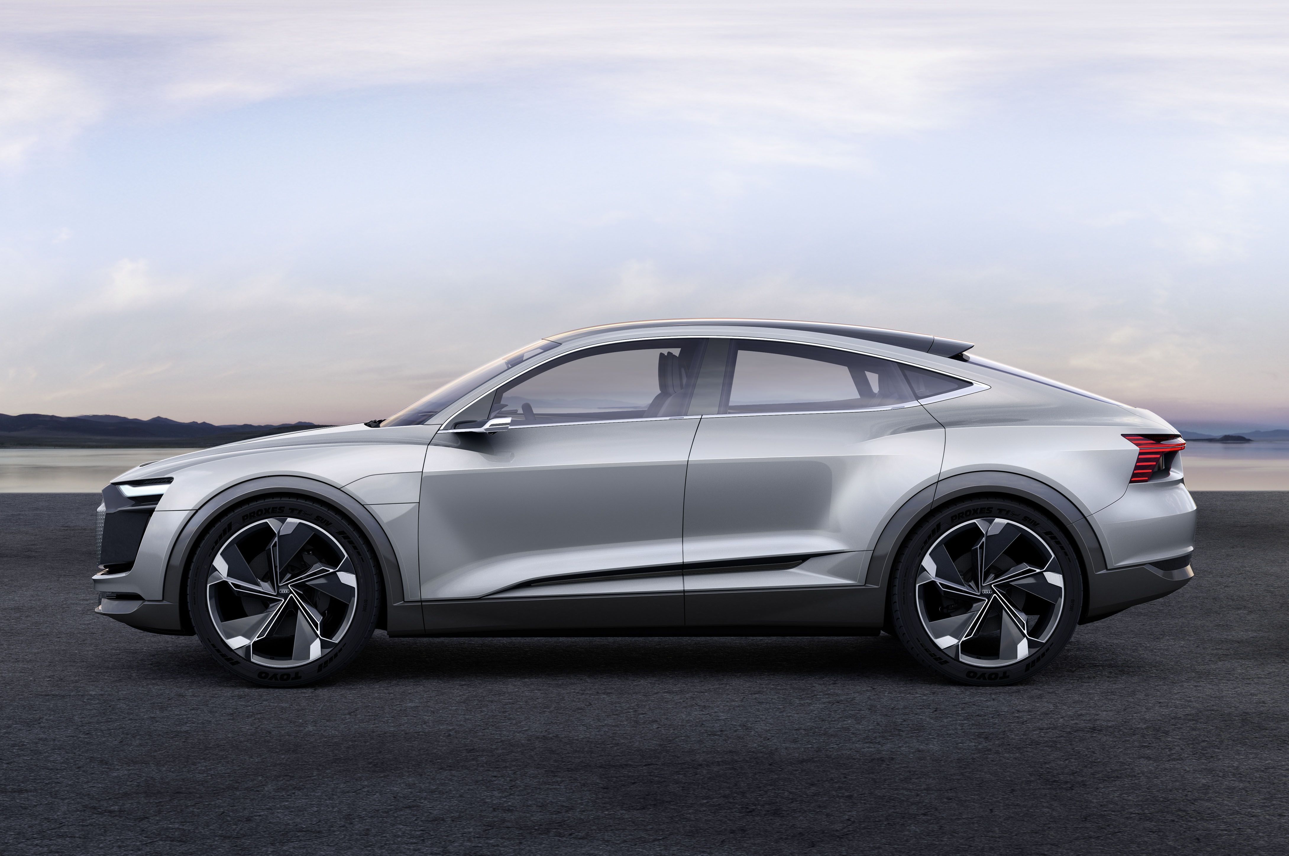 The Audi E Tron Sportback Concept Features An Electric Drive System