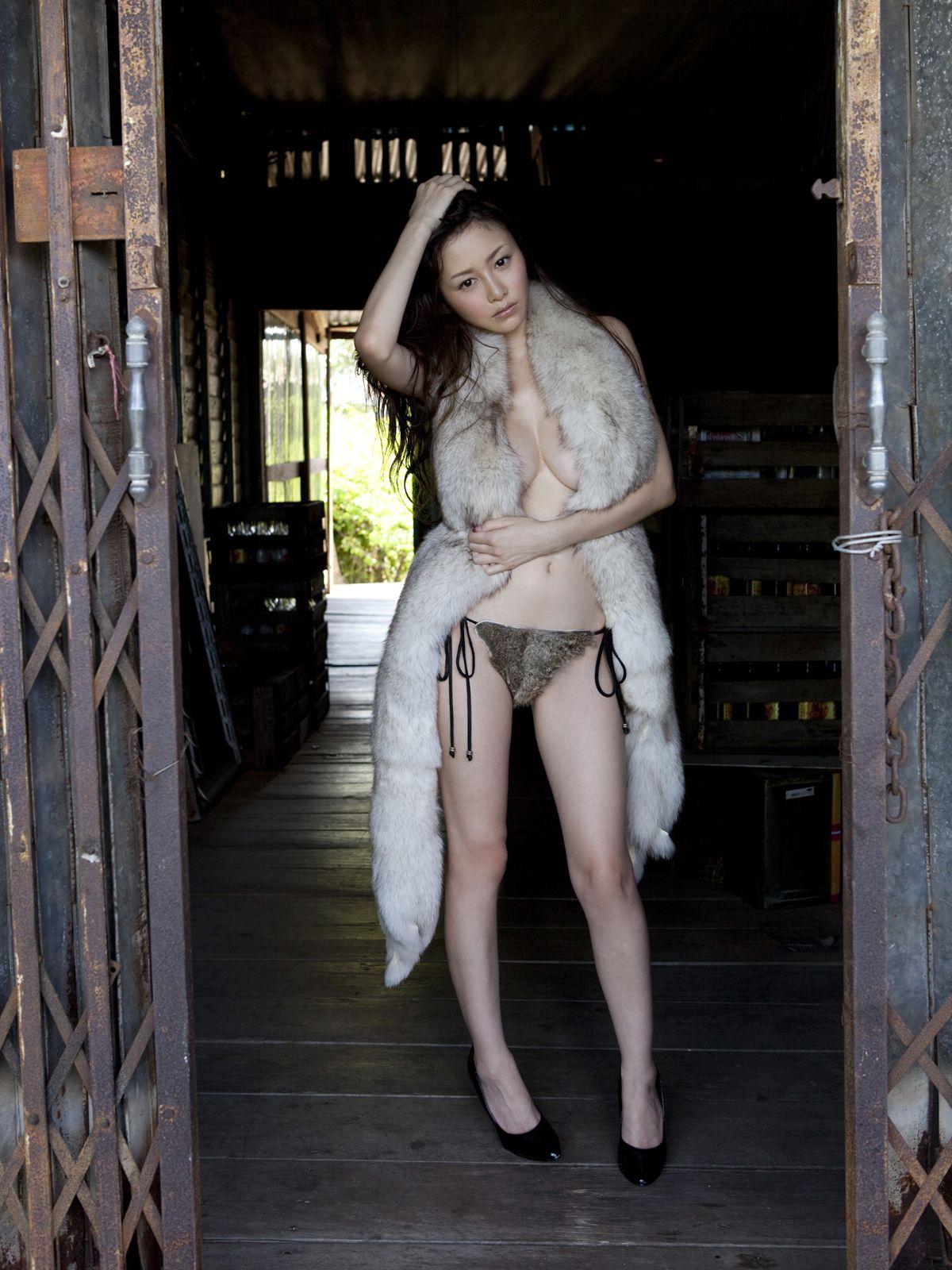 Rabbit fur bikinis