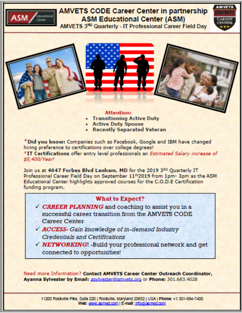 110 Amvets Nationwide Career Centers Ideas Career Nationwide Unemployment Rate