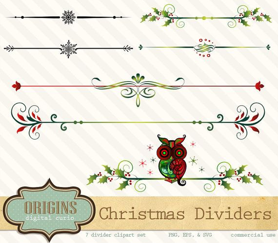 21+ Christmas line divider clipart ideas in 2021