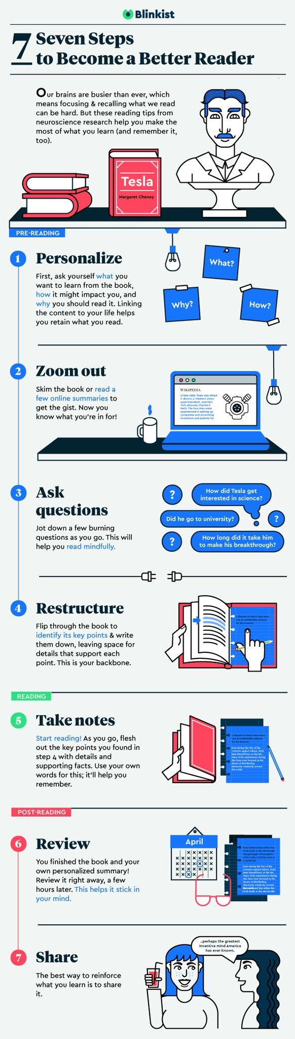 7 Steps To Get The Most Out Of Your Reading Infographic Improve Reading Skills Book Infographic Essay Writing Tips How to improve your reading