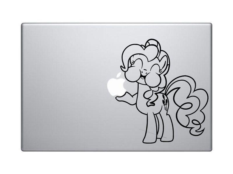 Pinkie Pie Macbook! om nom!