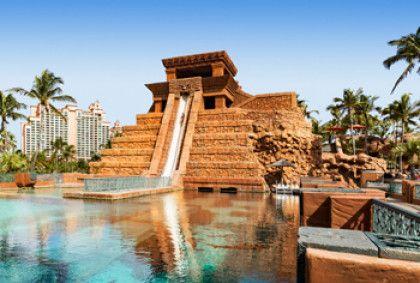 Underwater Water Slide Atlantis Siam Park Alamy Water ...