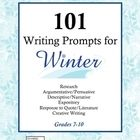Massive collection of writing prompts to celebrate the winter season!  101 Writing Prompts for Winter includes writing prompts for Research papers,...
