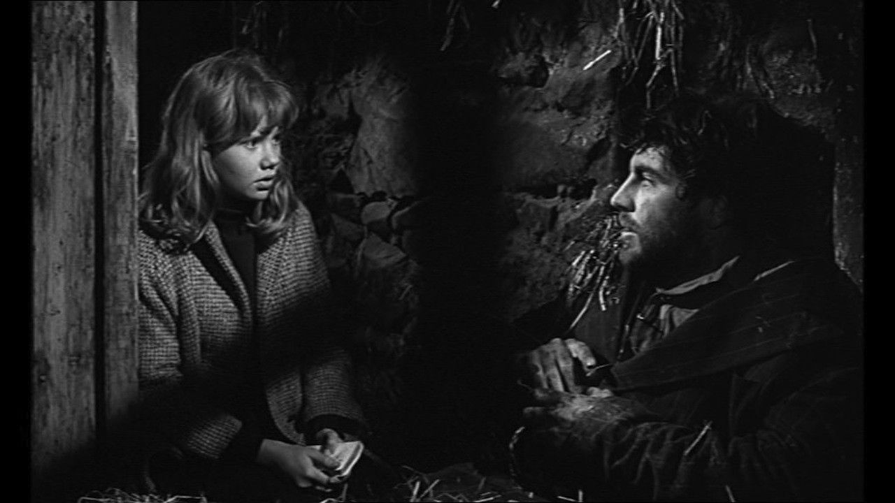 Magical ---> Hayley Mills and Alan Bates in Whistle Down the Wind, 1961