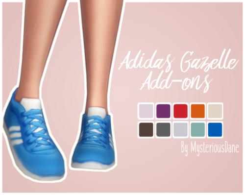 Adidas Gazelle Add-onsI personally just