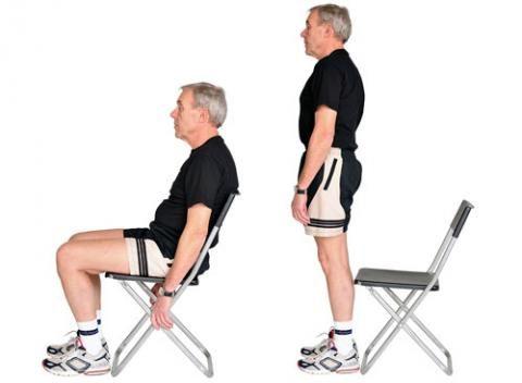 träning för artros i knä