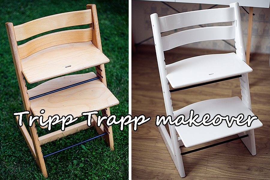 Tripp Trapp Makeover Come And See How I Painted My Tripp