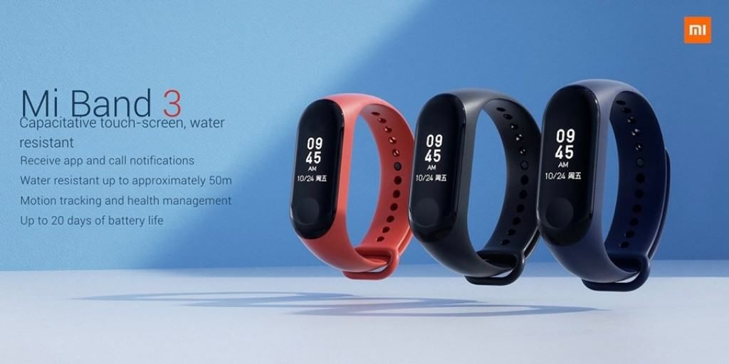 Mi Band 3: The Latest Fitness Tracker From Xiaomi Comes to