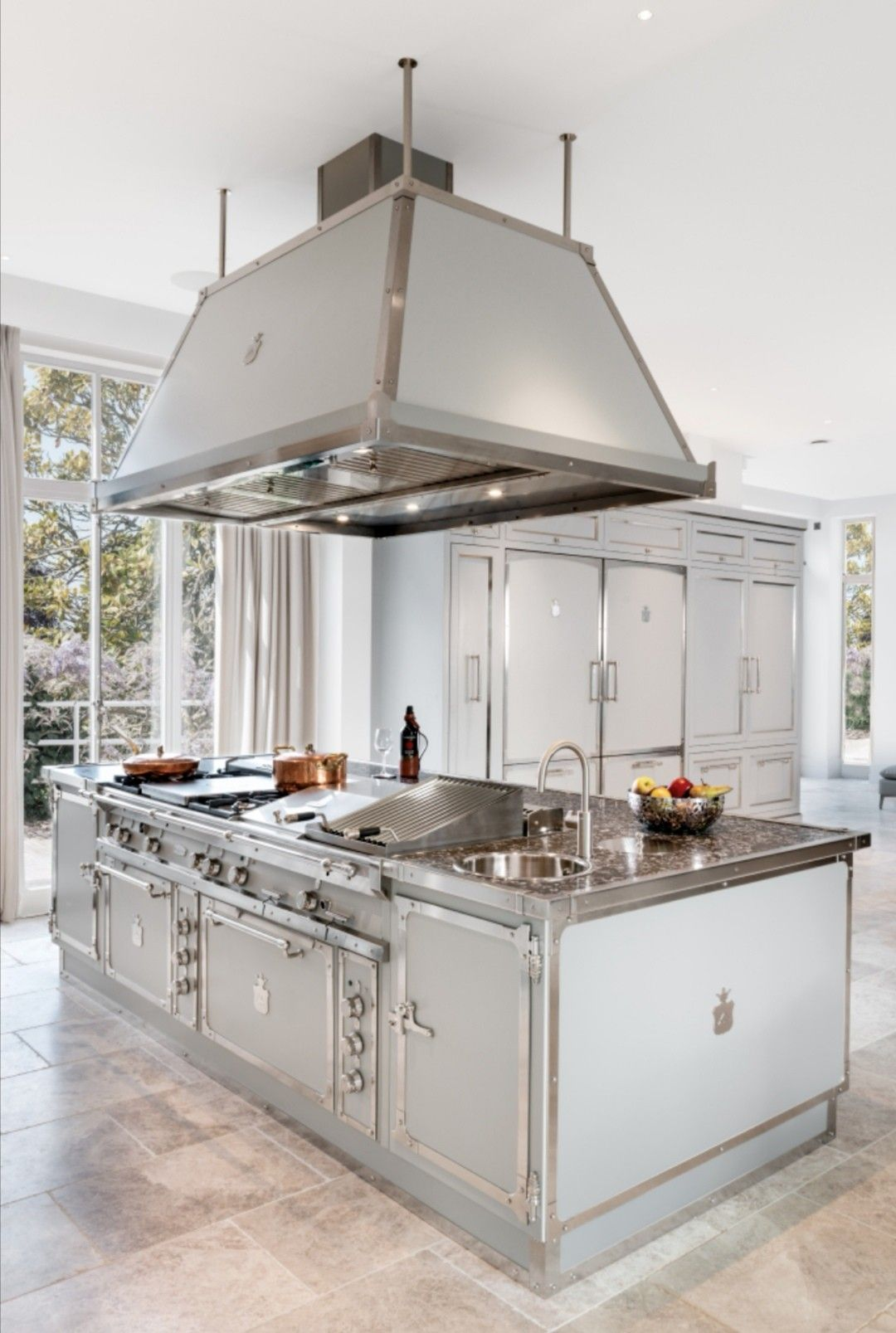 Our Range Cookers And Kitchens Are A Unique Mix Between A Professional Cooker And A Balanced D Kitchen Fittings Industrial Kitchen Design Best Kitchen Cabinets