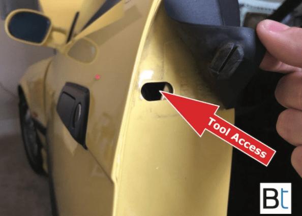 Bmw E36 E34 Door Handle Seal Gasket Replacement Bmw E36