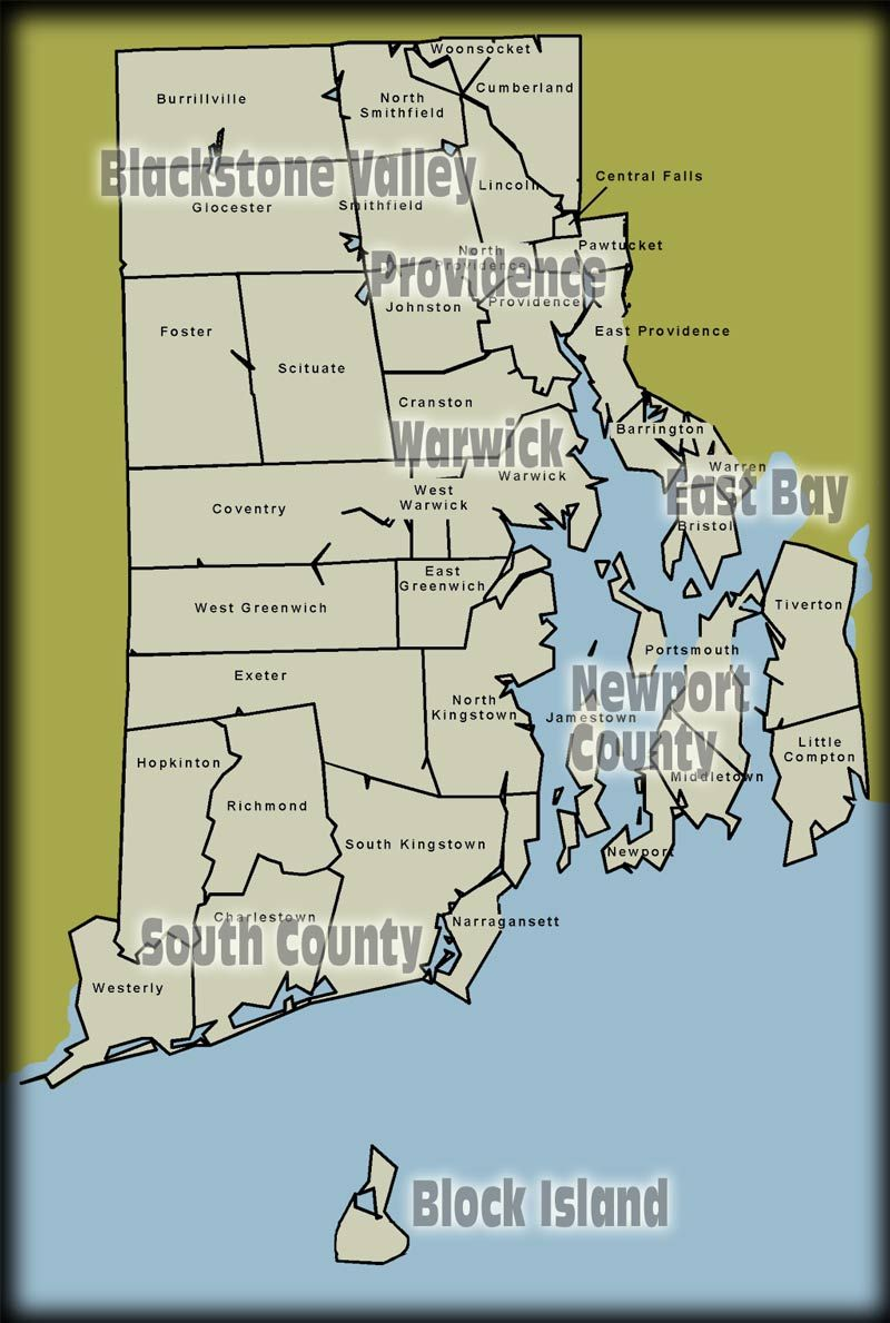 Which US state has the longest name Rhode island Rhodes and