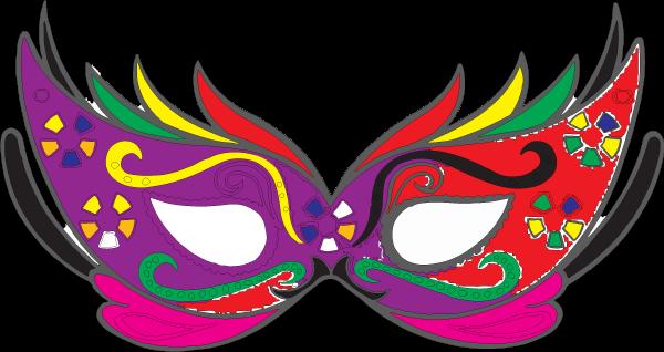 Mascaras de carnaval png to pdf