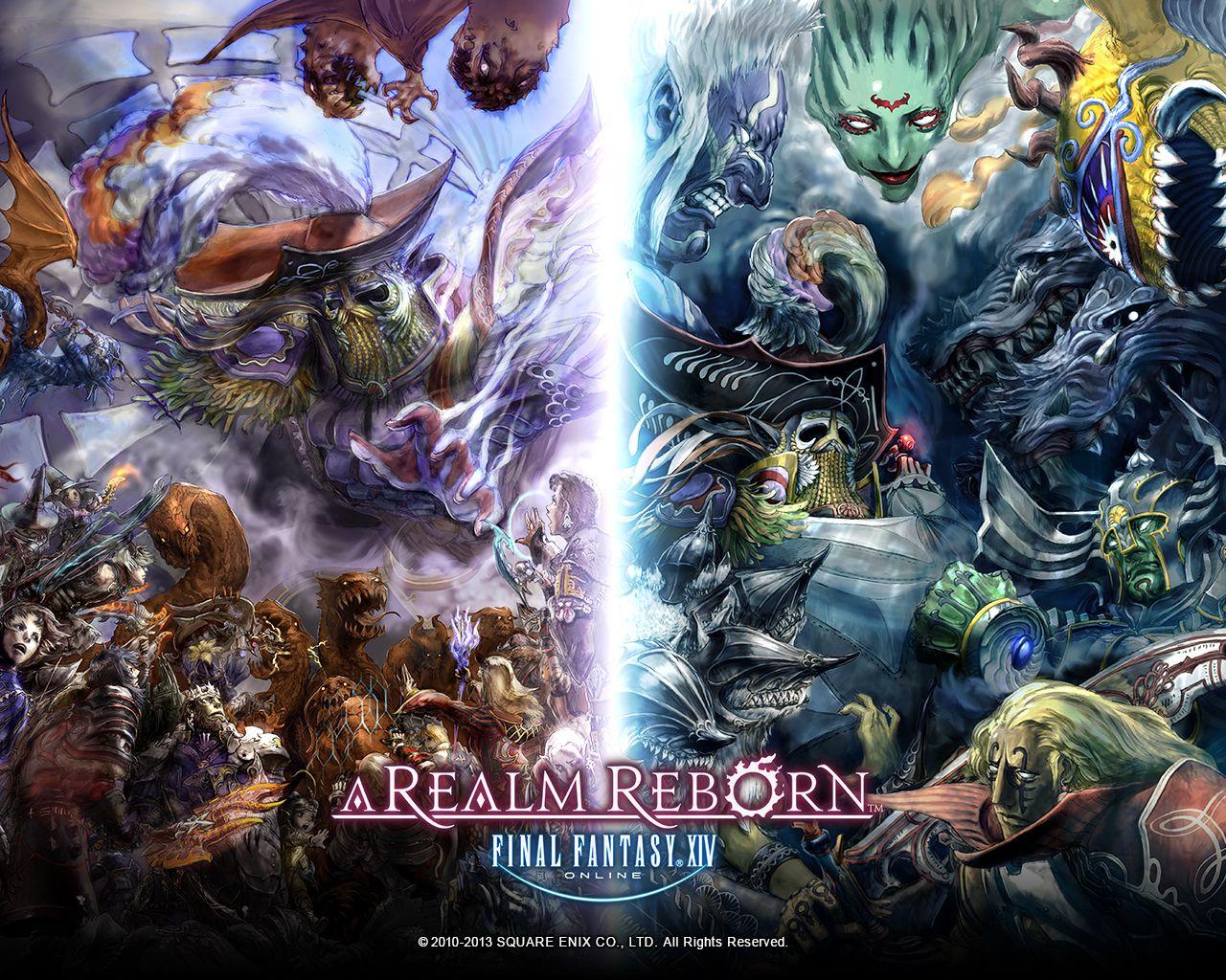 Final Fantasy Xiv A Realm Reborn Fantasy Art Wallpapers: Final Fantasy XIV A Realm Reborn Wallpaper Game Wallpapers