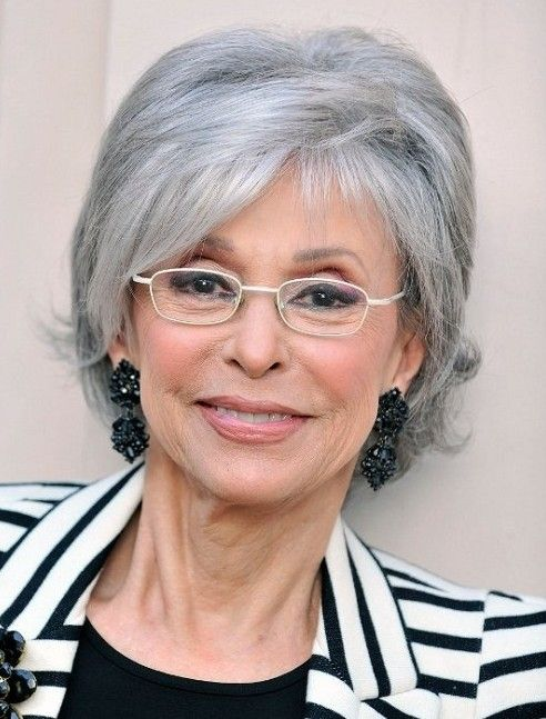 20 Hottest Short Hairstyles For Older Women My Style Grey Hair