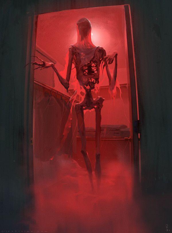 Мрачные картинки №3 арт, хоррор, joyreactor, длиннопост