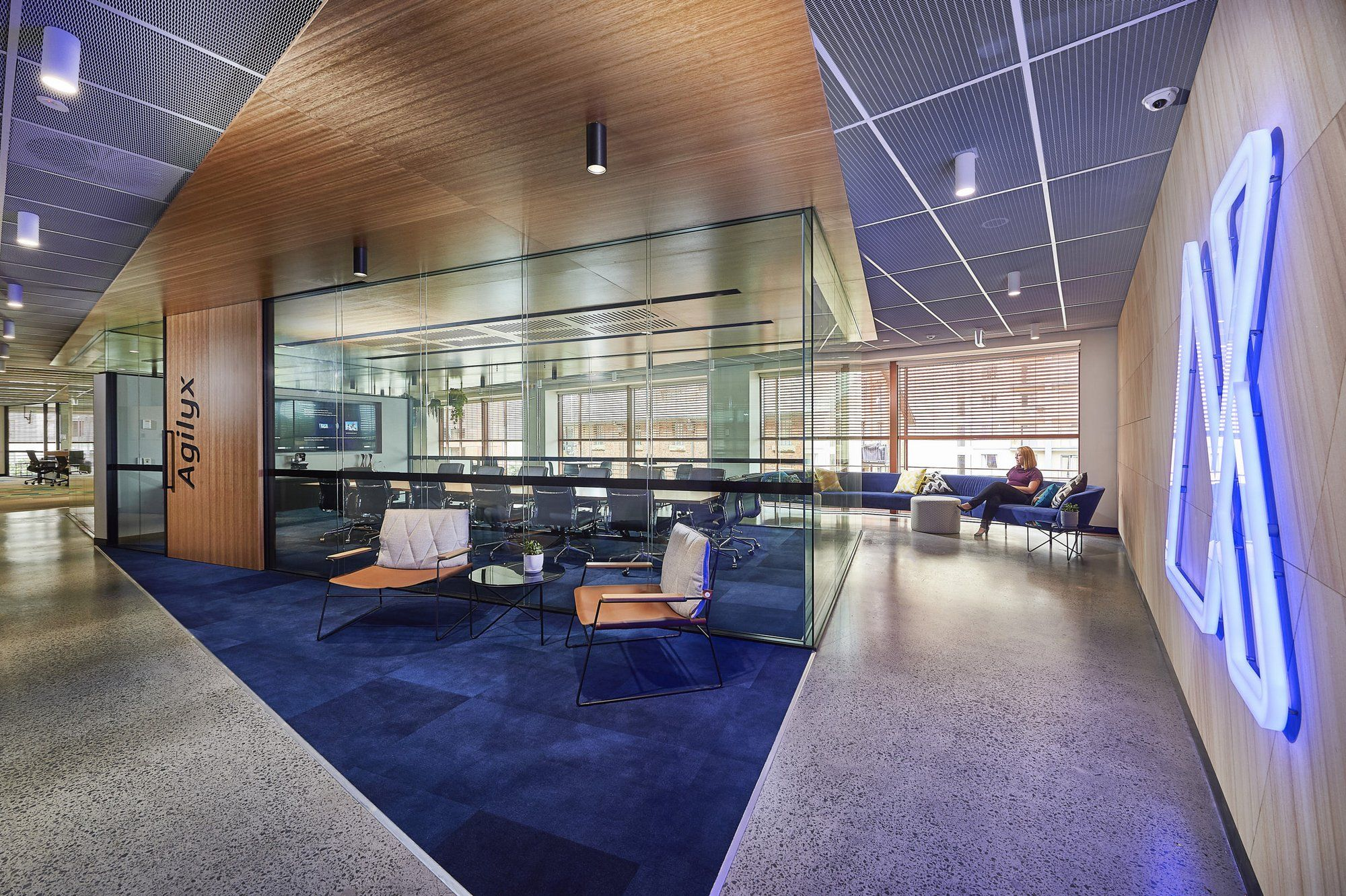 office tour agilyx offices sydney corporate office on business office color schemes id=16043