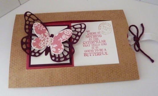 StampinClubNederland : Butterfly Basics - schuifkaart