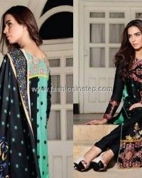 Ittehad Textiles Embroidered Winter Dresses 2013 002
