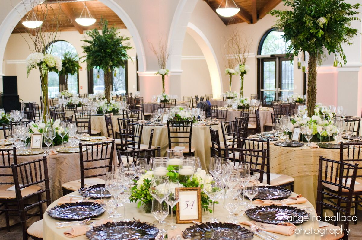 Beautiful Reception In The Orangery At The Cape Fear Botanical Garden Botanical Gardens Garden Wedding Venue Botanical Gardens Wedding