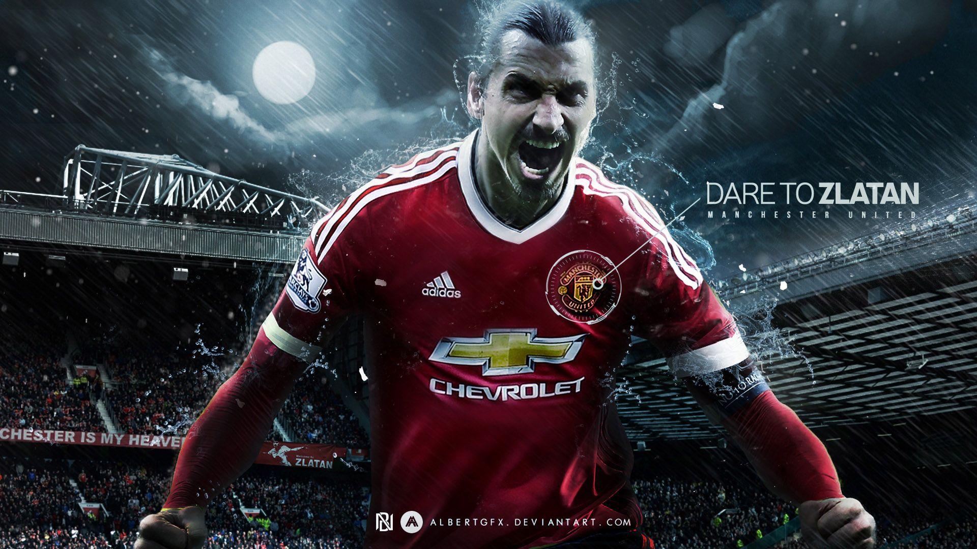 Ibrahimovic Manchester United Wallpaper Ibrahimovic Wallpapers Futebol Liga Europa