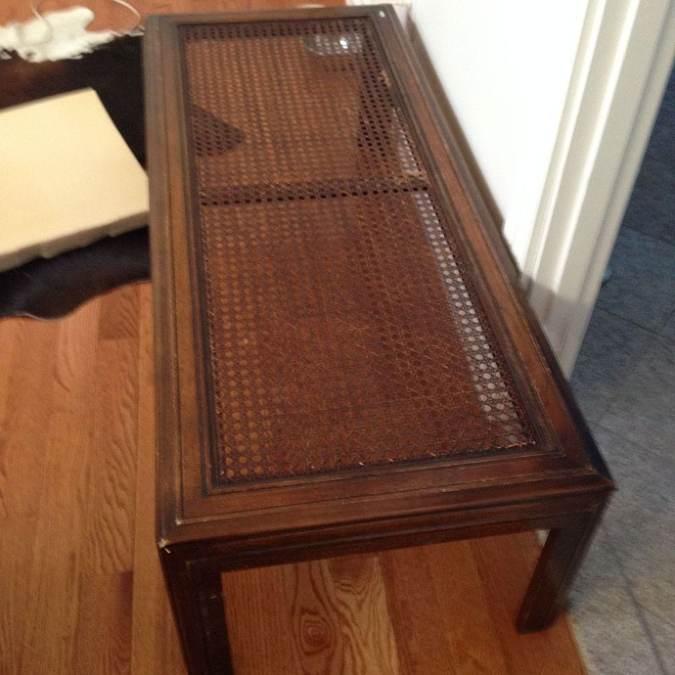 Old Coffee Table Gets A High End Upcycle Old Coffee Tables