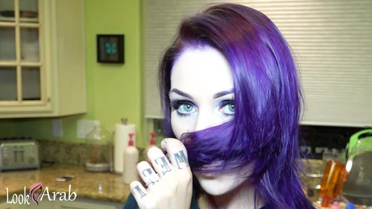 Account Suspended Hair Dye Tutorial Silver Hair Color Purple Ombre Hair
