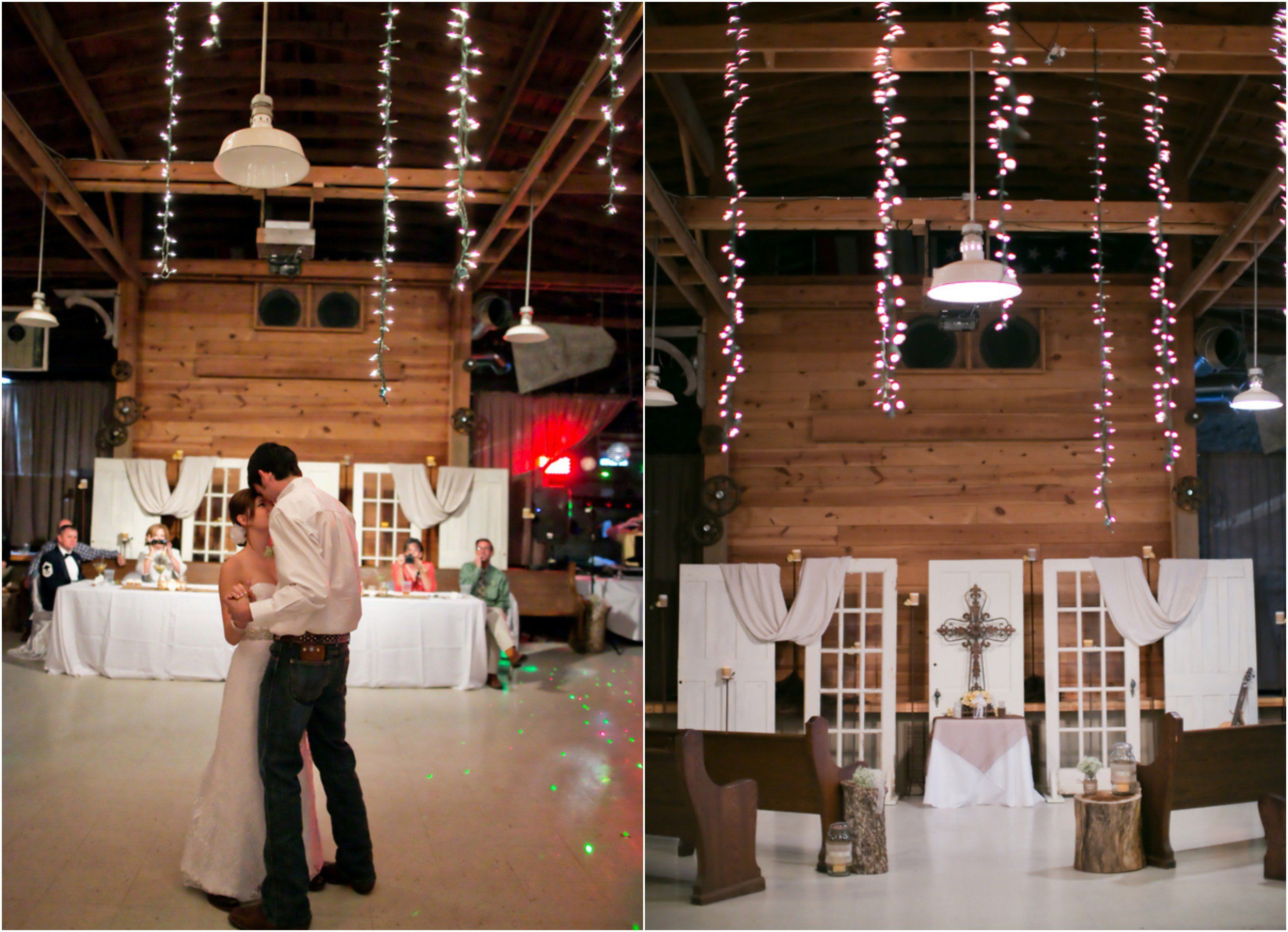Texas Barn Wedding With Country Decorations