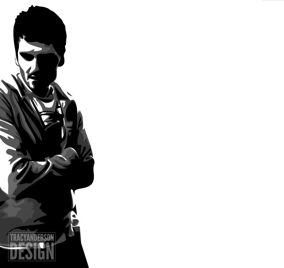 Man Thinking Vector Illustrator Flat Design Graphic Design Deep Thought Daydreaming Black White A Sym Art Design Black And White Cool Designs
