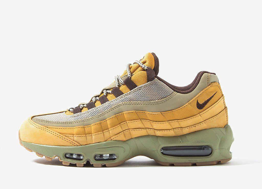 innovative design 3ab74 29ff0 Nike Air Max 95  Flax  Shoes - Bronze Bronze-Bamboo