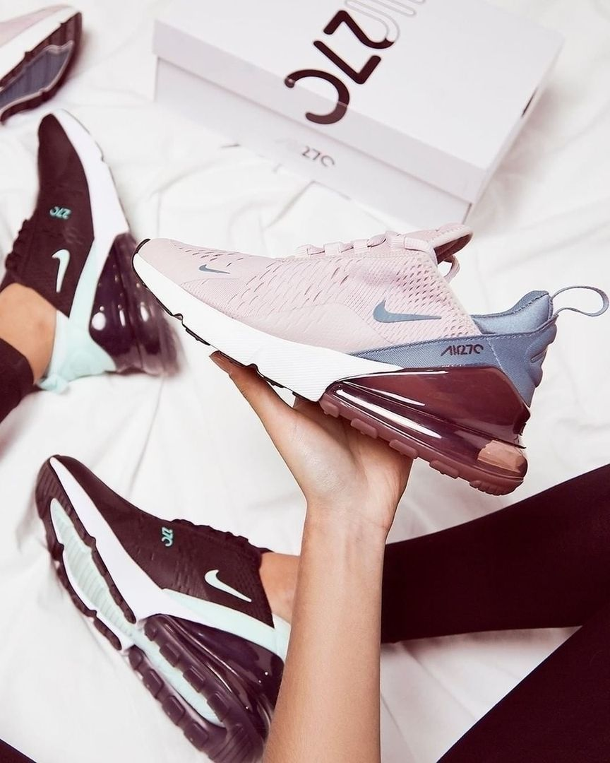 buy popular 33ed3 62bb5 The Nike Air Max 270 Women s Shoe is inspired by two icons of big Air